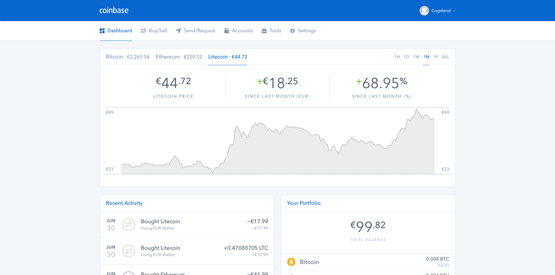 Coinbase cryptocurrency deposit